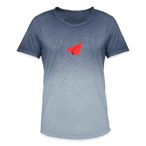 It's time to fly - Men's T-Shirt with colour gradients