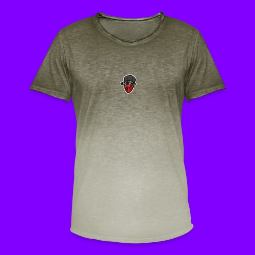 MKM TV's Logo - Men's T-Shirt with colour gradients