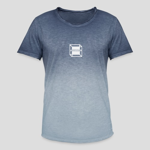 Squared Apparel White Logo - Men's T-Shirt with colour gradients