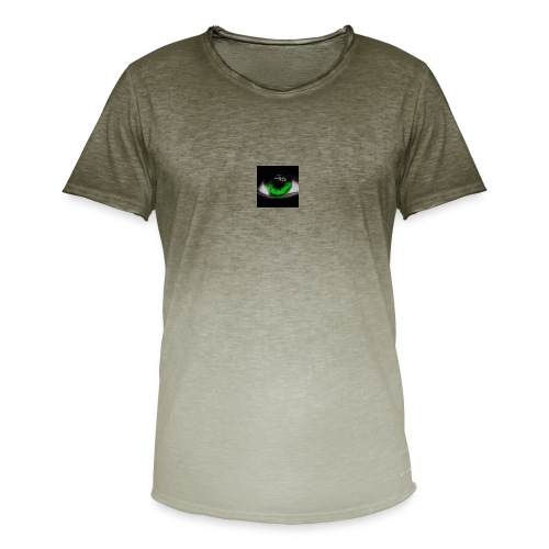 Green eye - Men's T-Shirt with colour gradients