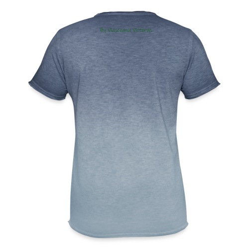 2 Smart - Herre T-shirt i colour-block-optik