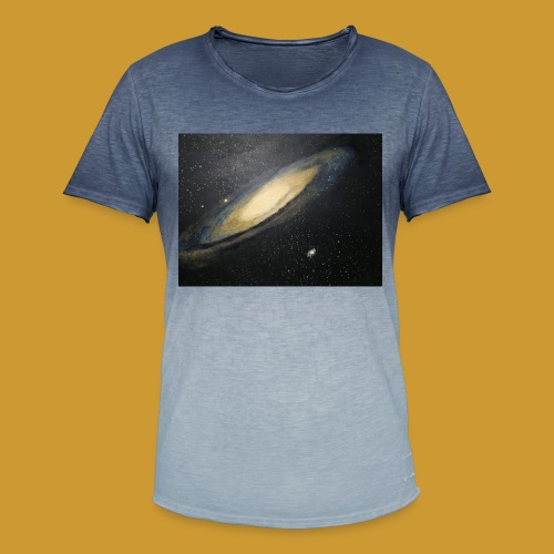 Andromeda - Mark Noble Art - Men's T-Shirt with colour gradients