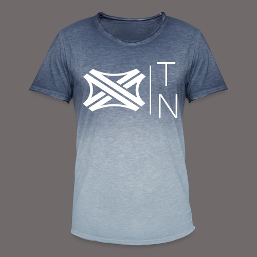 Tregion logo Small - Men's T-Shirt with colour gradients