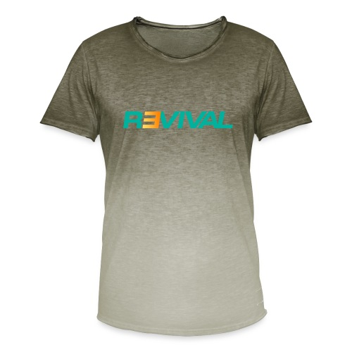 revival - Men's T-Shirt with colour gradients