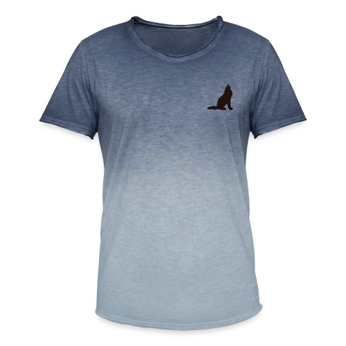 Wolf Pack - Men's T-Shirt with colour gradients
