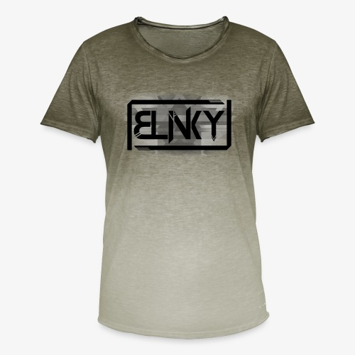 Blinky Compact Logo - Men's T-Shirt with colour gradients