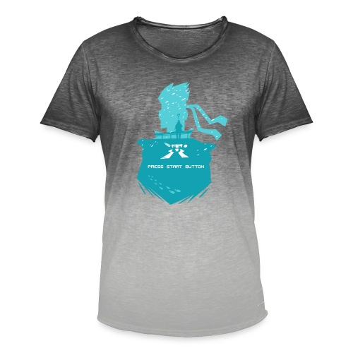 Shadow Moses - Men's T-Shirt with colour gradients