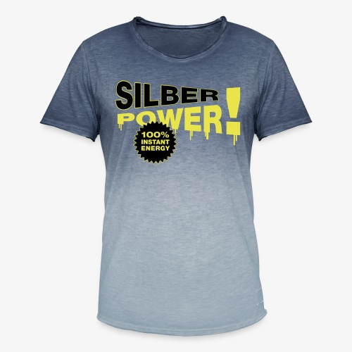 SilberPower! - Herre T-shirt i colour-block-optik
