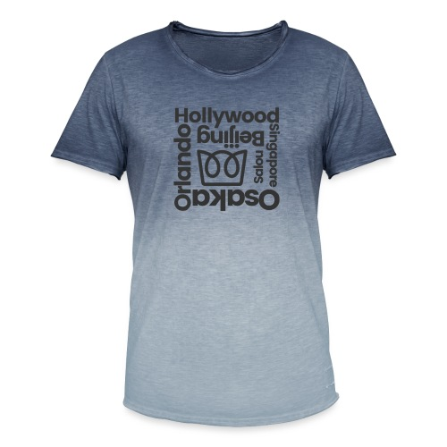 From Hollywood - Men's T-Shirt with colour gradients