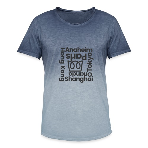 Anaheim and Beyond - Men's T-Shirt with colour gradients