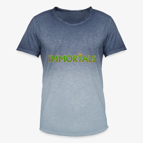 Immortals - Men's T-Shirt with colour gradients