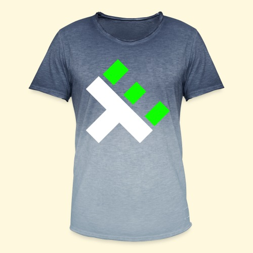 xEnO Logo - xEnO horiZon - Men's T-Shirt with colour gradients