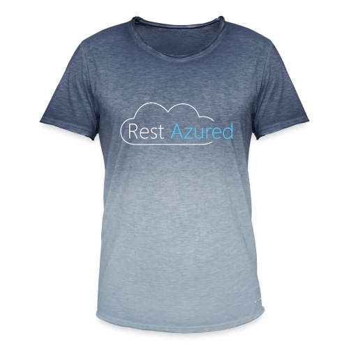 Rest Azured # 2 - Men's T-Shirt with colour gradients
