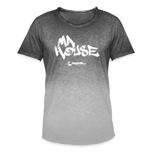 My House * by DEEPINSIDE - Men's T-Shirt with colour gradients