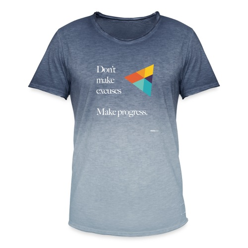 Dont Make Excuses T Shirt - Men's T-Shirt with colour gradients