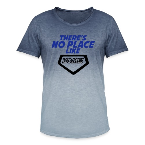 There´s no place like home - Men's T-Shirt with colour gradients