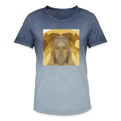 In awe of Jesus - Men's T-Shirt with colour gradients