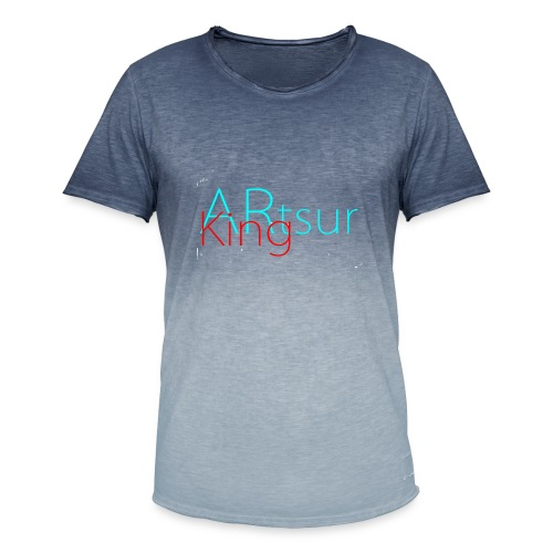ARtsurKing Logo - Men's T-Shirt with colour gradients