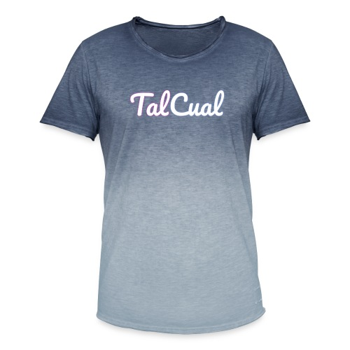 TalCual Logo Alternativo - Camiseta degradada hombre