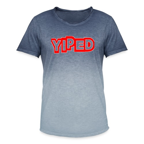 FIRST YIPED OFFICIAL CLOTHING AND GEARS - Men's T-Shirt with colour gradients