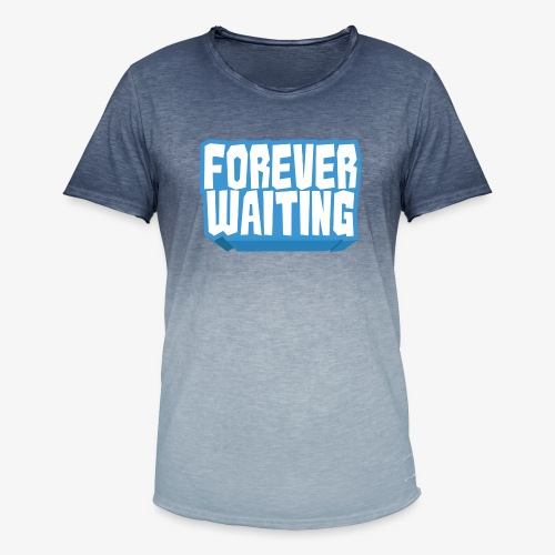 Forever Waiting - Men's T-Shirt with colour gradients