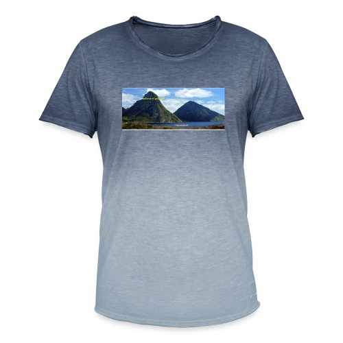 believe in yourself - Men's T-Shirt with colour gradients