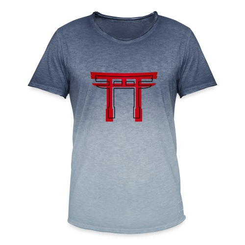 CR CulTorii 12 - Solid Torii Gate - Camiseta degradada hombre