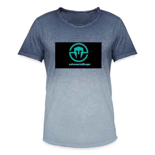 xxImmortalScope throwback - Men's T-Shirt with colour gradients