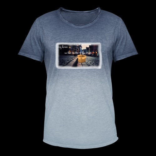 HOUSE SERIES - Mannen T-shirt met kleurverloop