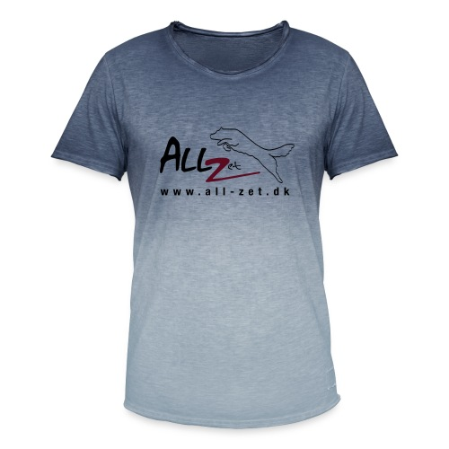 All Zet Logo - Herre T-shirt i colour-block-optik