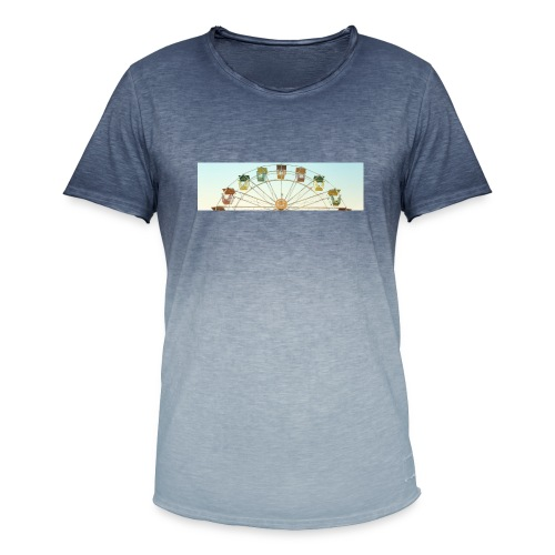 header_image_cream - Men's T-Shirt with colour gradients