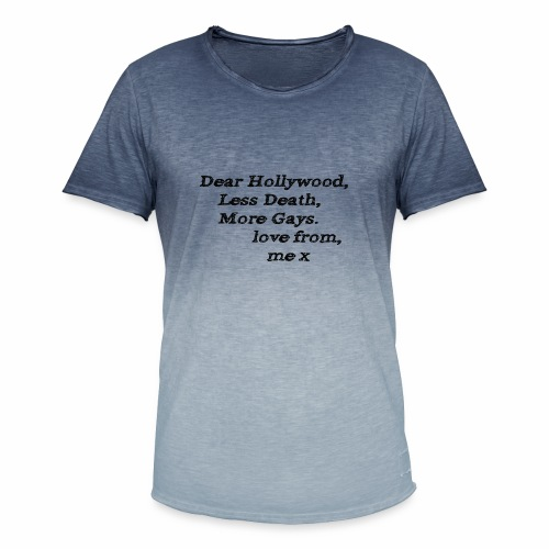 Dear Hollywood - Men's T-Shirt with colour gradients