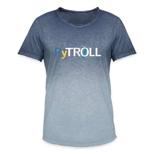 pytröll - Men's T-Shirt with colour gradients