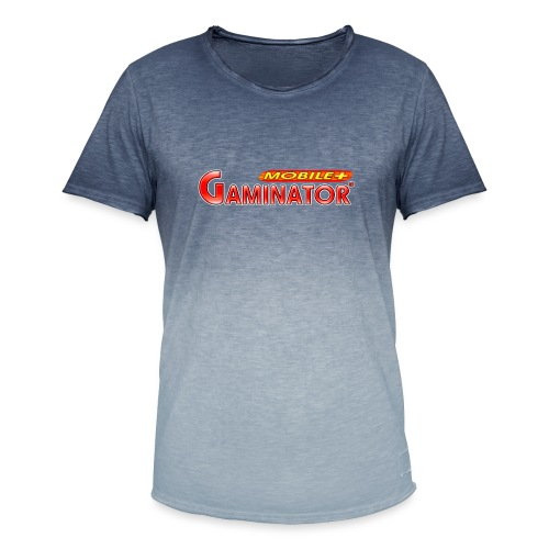 Gaminator logo - Men's T-Shirt with colour gradients