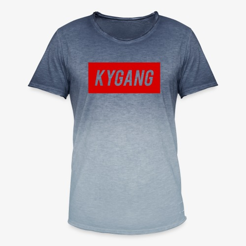 Kygang Merch - Men's T-Shirt with colour gradients