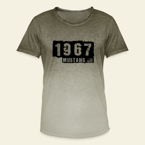 1967 - Herre T-shirt i colour-block-optik