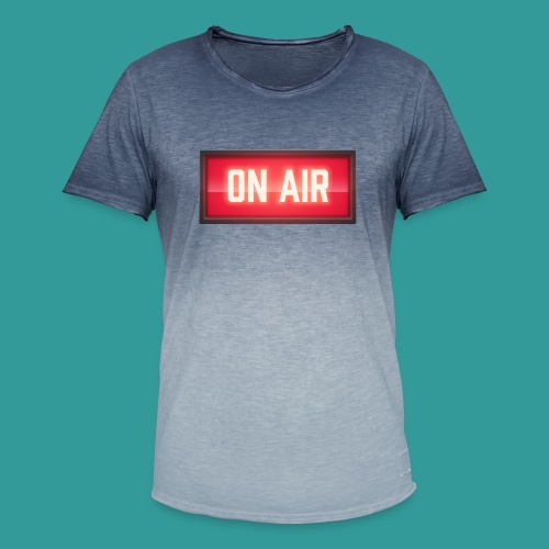 On Air - Men's T-Shirt with colour gradients