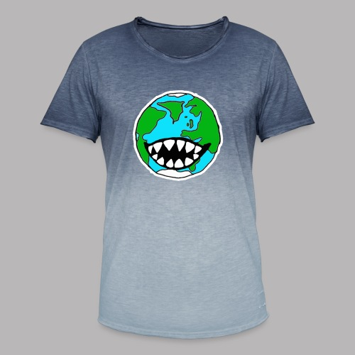Hungry Planet - Men's T-Shirt with colour gradients