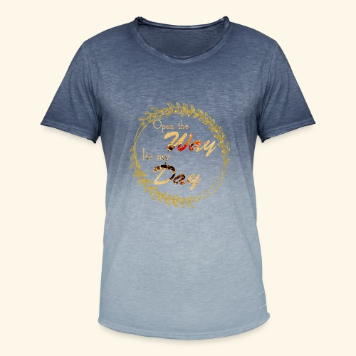 its my day weddingcontest - Men's T-Shirt with colour gradients