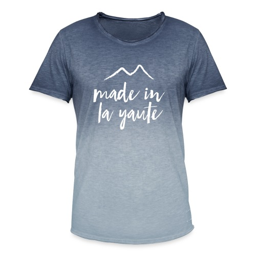 Made in la yaute - T-shirt dégradé Homme