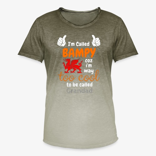 I'm Called BAMPY - Cool Range - Men's T-Shirt with colour gradients