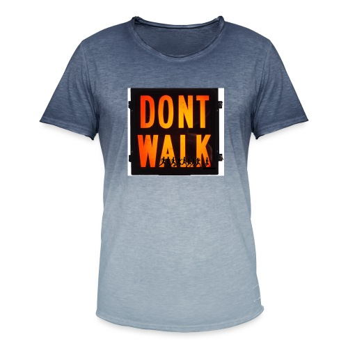 Don't Walk - Men's T-Shirt with colour gradients