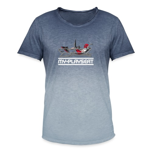 my playseat - Camiseta degradada hombre