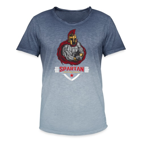 Spartan Workout Ultimatives Fitness T-Shirt - Männer T-Shirt mit Farbverlauf