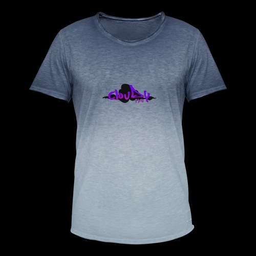 cloudy fpv logo STANDARD - Men's T-Shirt with colour gradients