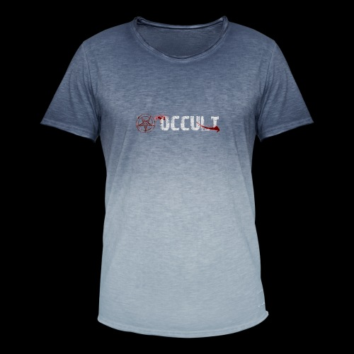 Occult Ghost Hunts - Men's T-Shirt with colour gradients