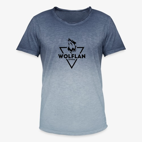 WolfLAN Gaming Logo Black - Men's T-Shirt with colour gradients