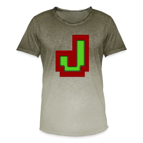 Stilrent_J - Herre T-shirt i colour-block-optik