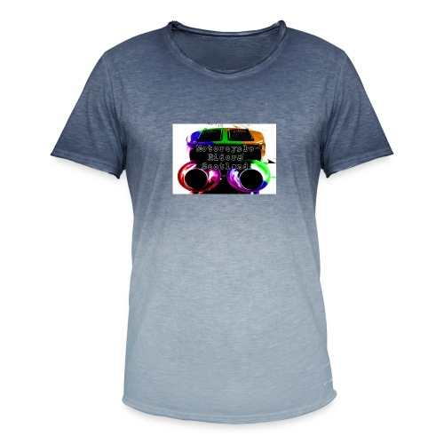MCRS Twin Pipes - Men's T-Shirt with colour gradients