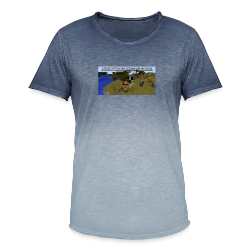 minecraft - Men's T-Shirt with colour gradients